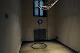 kombinovaná technika, prostorová instalce