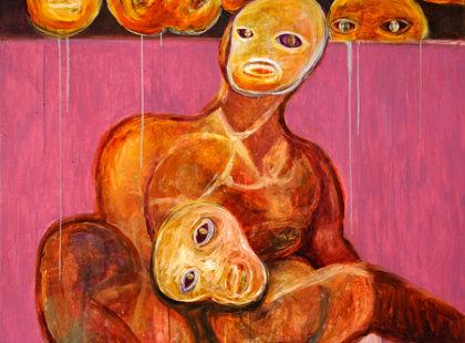 2011, akryl na plátně, 140 x 180cm