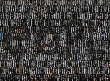 2011,  mixed media, 240 x 80  cm