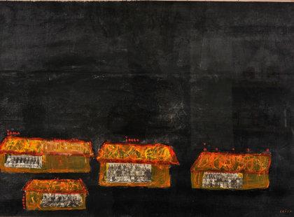 2012, Acrylic on Canvas, 97 x 67 cm