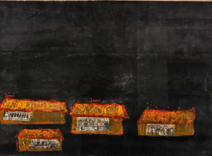 2012, akryl na plátně, 97 x 67 cm