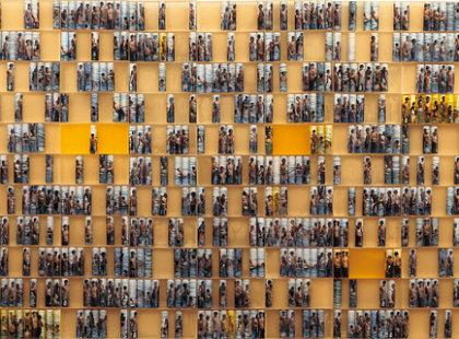 2008/2009, prskyřice, foto, 300 x 90 cm