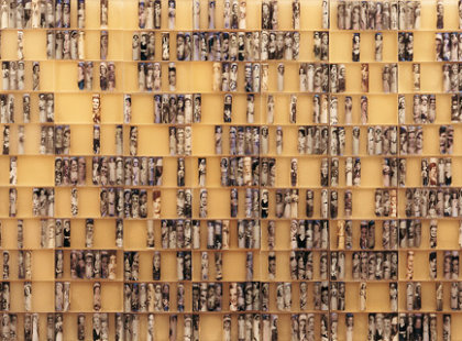 2008/2009, pryskyřice, foto, 300 x 90 cm