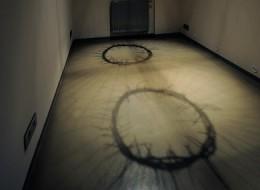 kombinovaná technika, 2011, prostorová instalace