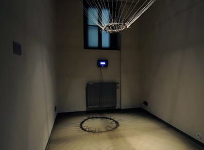 2011, mixed media, spatial installation