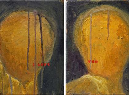 2012, acrylic on canvas (study)