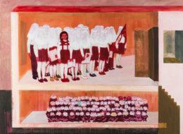 Jiskry a Jiskřičky, 2016, akryl na plátně, 180 x 140 cm