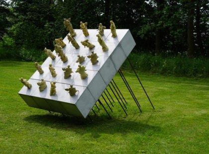White Gallery v Osíku u Litomyšle, stálá expozice
