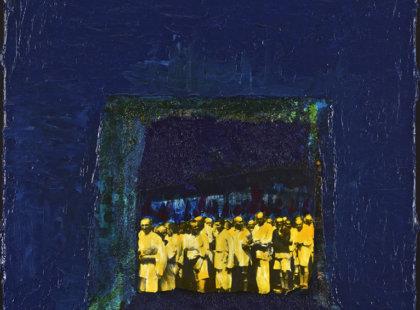 2013/2014, akryl,plátno, 2 x (50 x 40 cm)